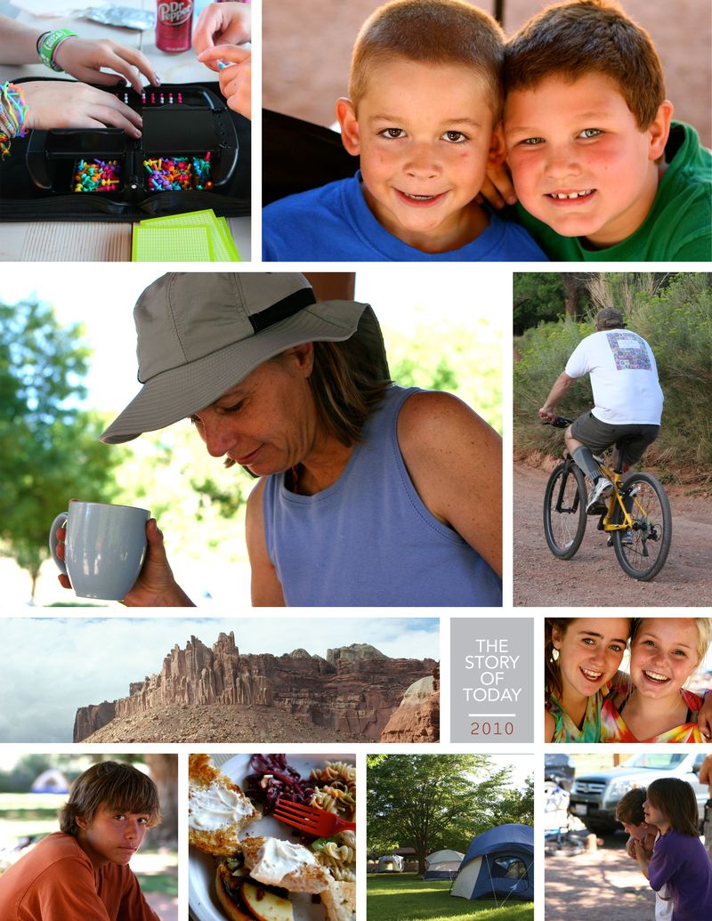 Capitol reef collage